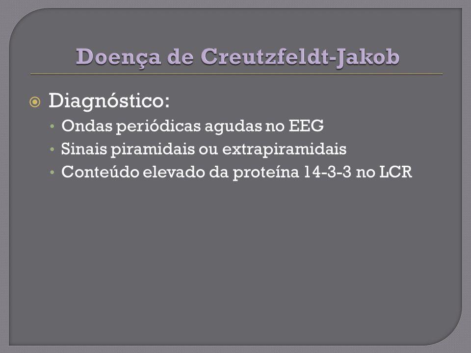 Doença de Creutzfeldt-Jakob