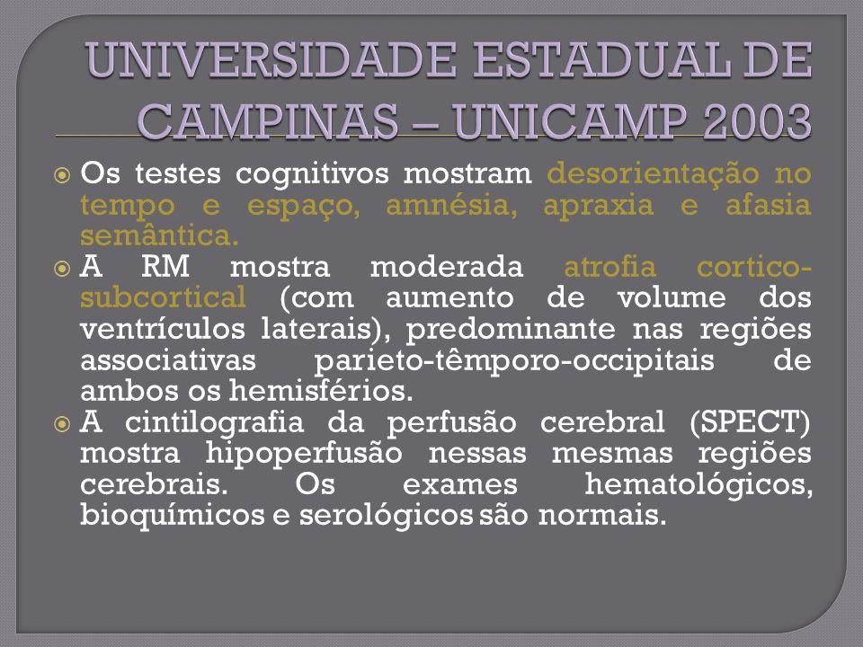 UNIVERSIDADE ESTADUAL DE CAMPINAS – UNICAMP 2003