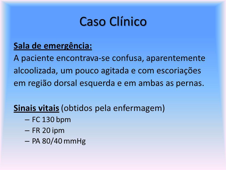 Caso Clínico Sala de emergência: