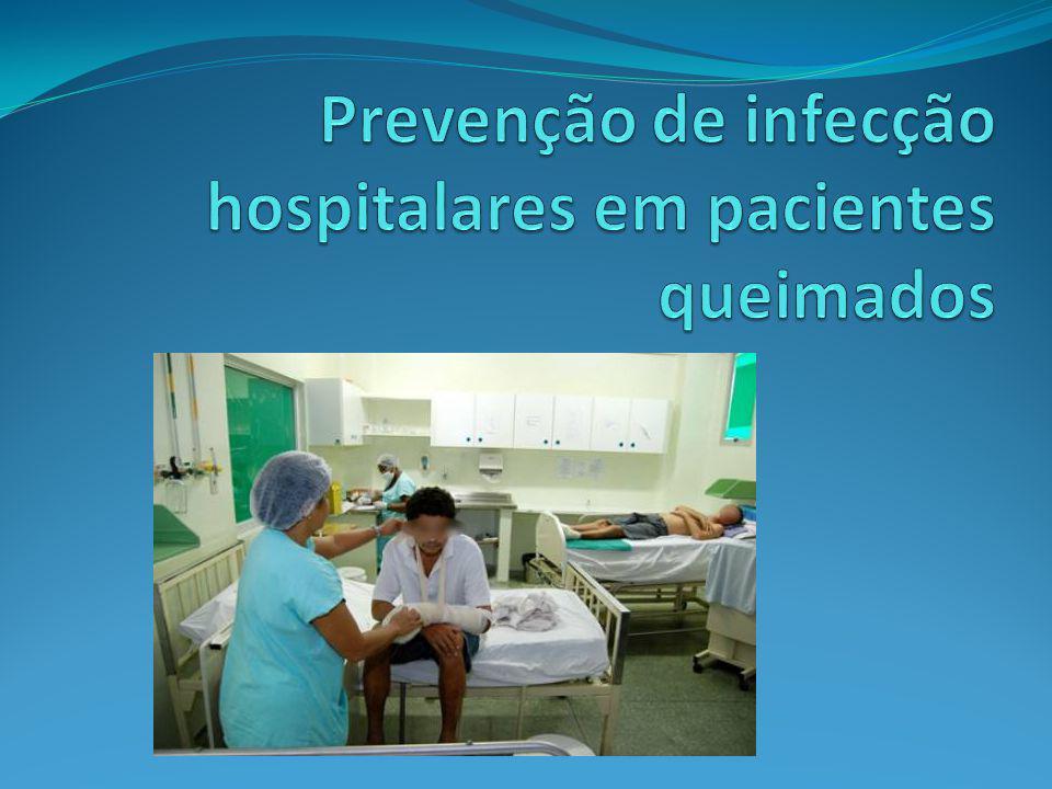 Prevenção de infecção hospitalares em pacientes queimados