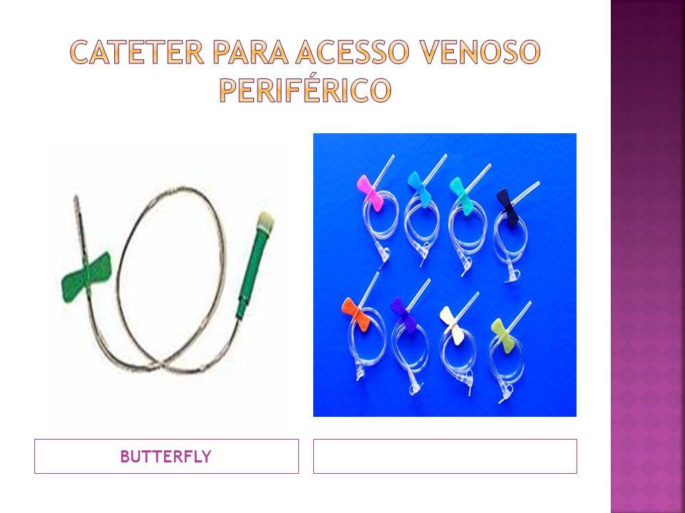 CATETER PARA ACESSO VENOSO PERIFÉRICO