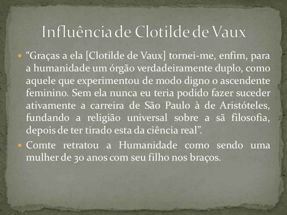 Influência de Clotilde de Vaux