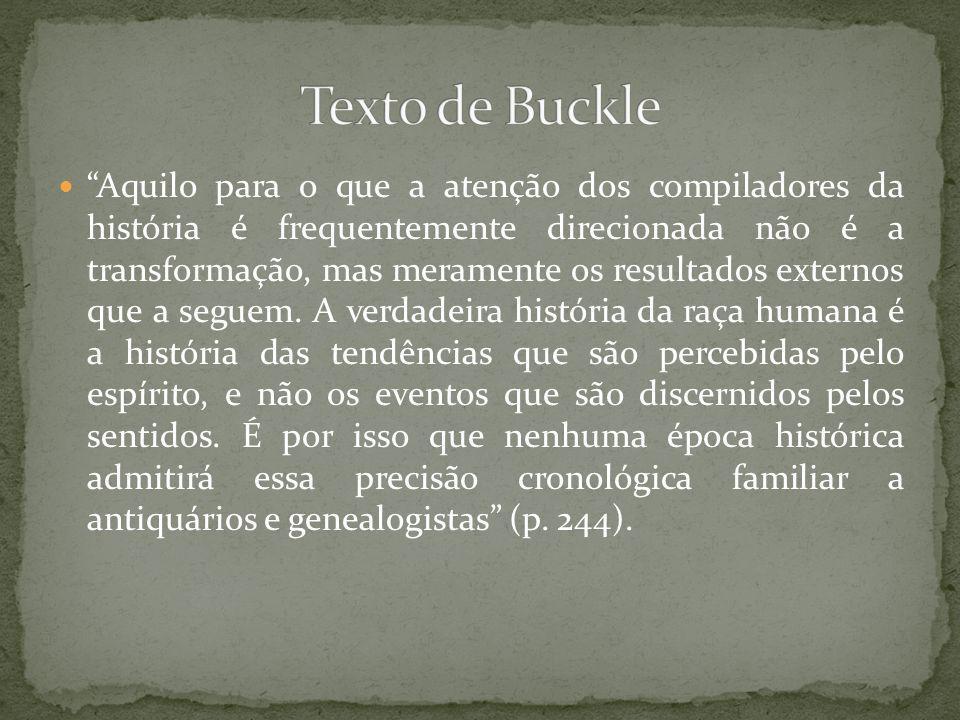 Texto de Buckle