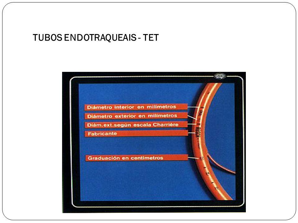TUBOS ENDOTRAQUEAIS - TET