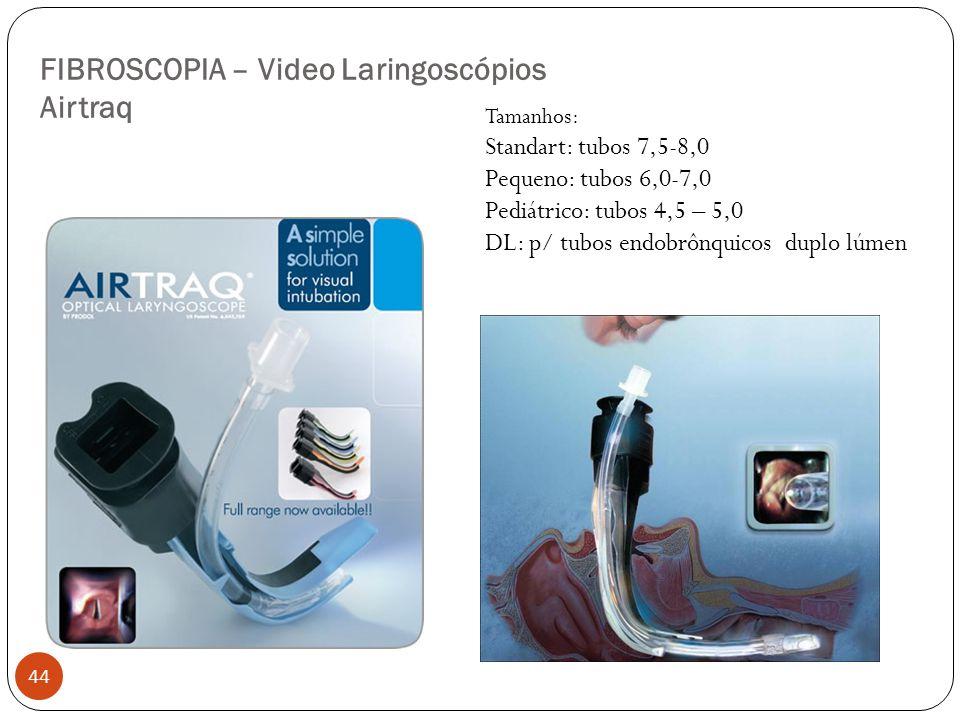 FIBROSCOPIA – Video Laringoscópios Airtraq