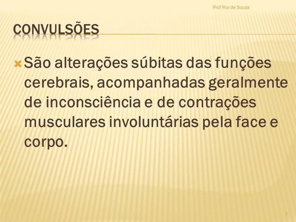 Prof Rui de Souza CONVULSÕES.