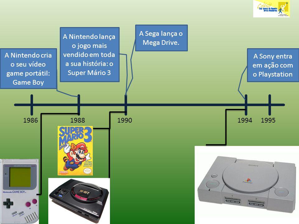 A Sega lança o Mega Drive.