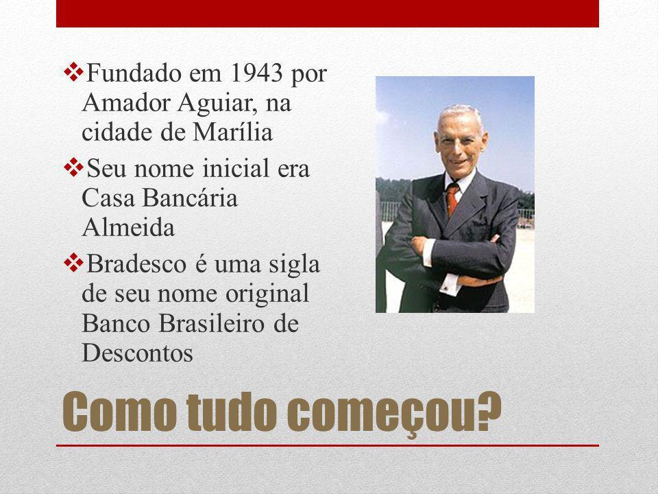 Fundado em 1943 por Amador Aguiar, na cidade de Marília