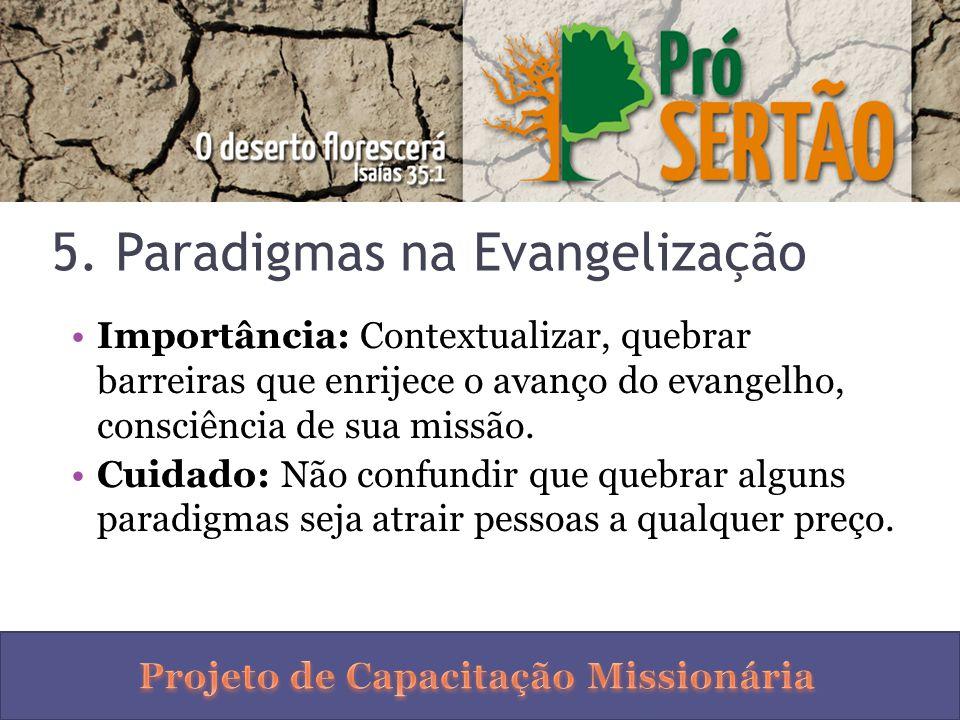 5. Paradigmas na Evangelização