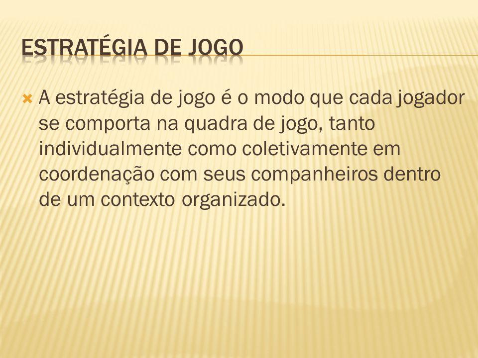 ESTRATÉGIA DE JOGO