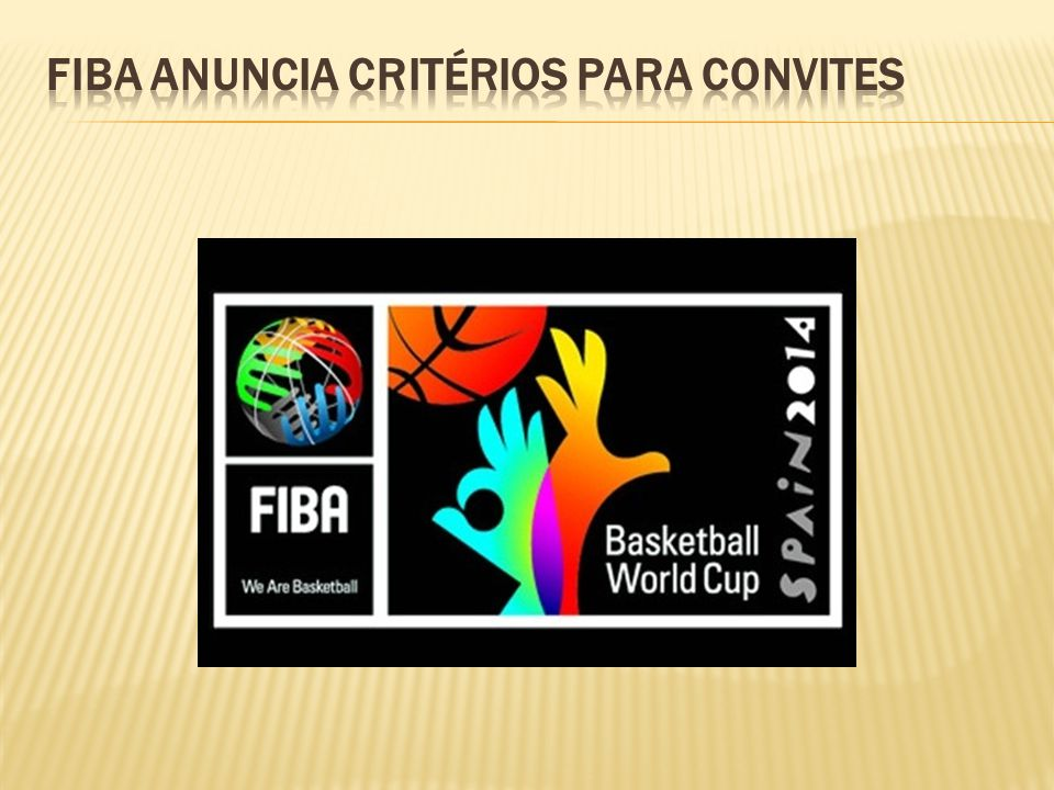 FIBA anuncia critérios para convites