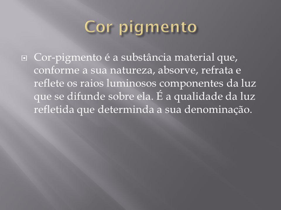 Cor pigmento