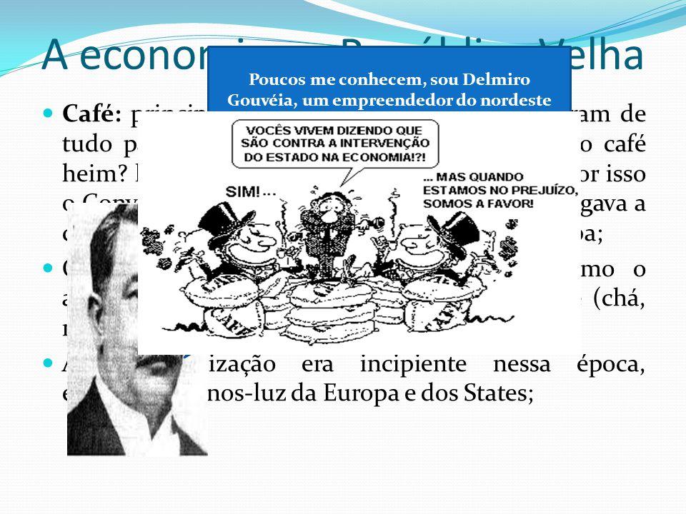 A economia na República Velha