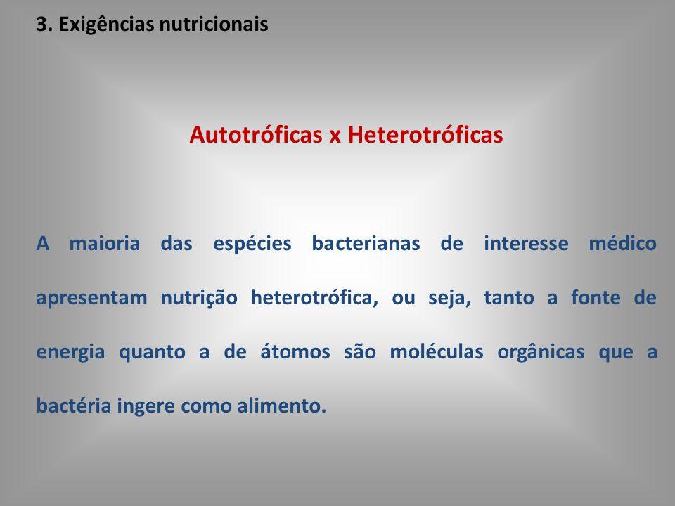 Autotróficas x Heterotróficas