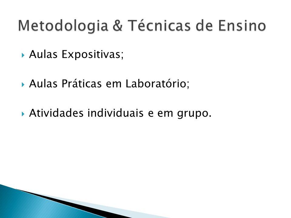 Metodologia & Técnicas de Ensino