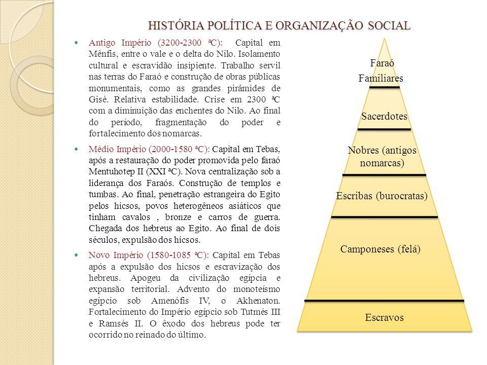 HISTÓRIA POLÍTICA E ORGANIZAÇÃO SOCIAL