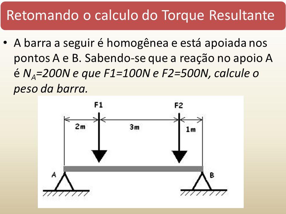 Retomando o calculo do Torque Resultante
