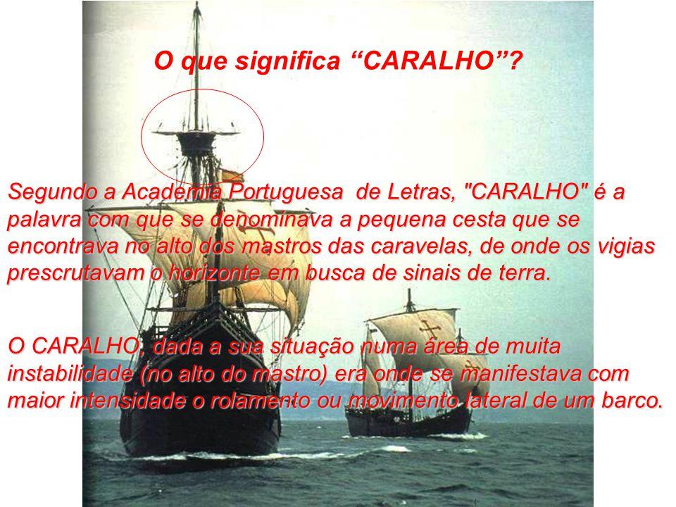 O que significa CARALHO