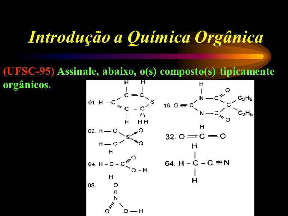 Introdução a Química Orgânica