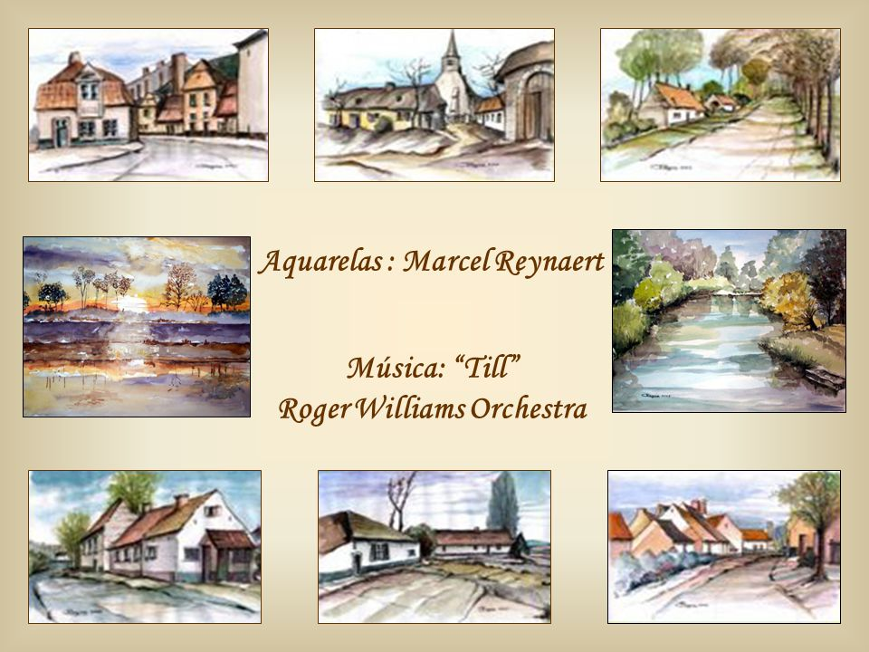 Aquarelas : Marcel Reynaert Roger Williams Orchestra
