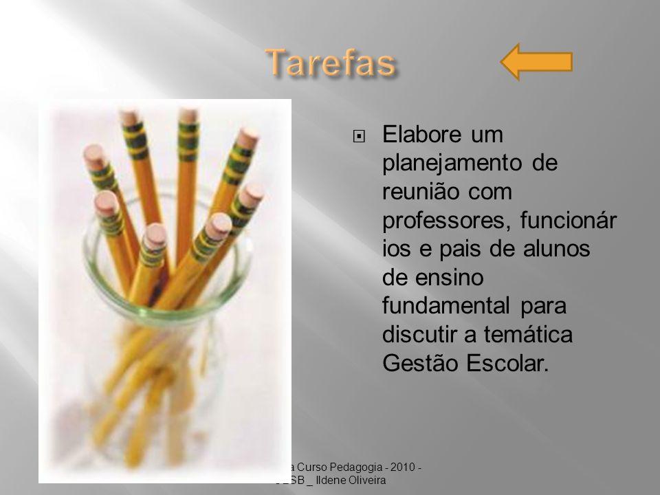Graduanda Curso Pedagogia - 2010 - UESB _ Ildene Oliveira