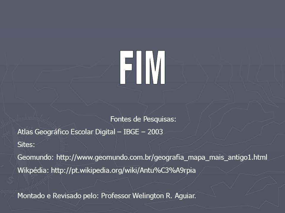 FIM Fontes de Pesquisas: