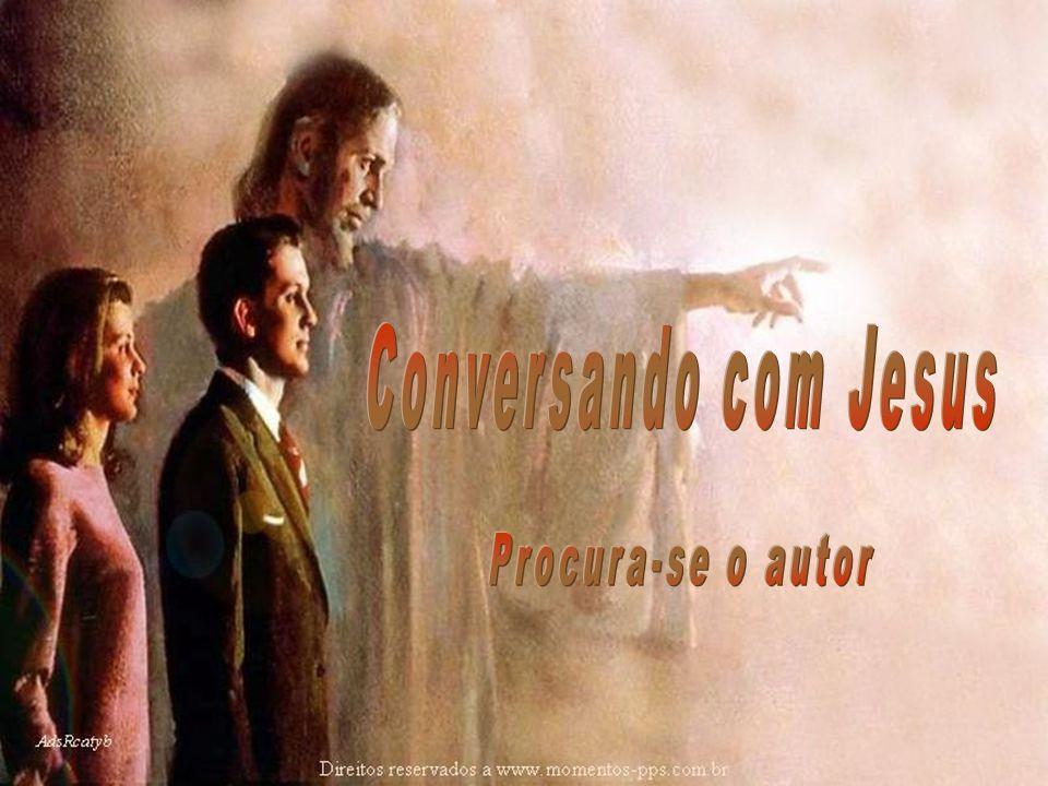 Conversando com Jesus Procura-se o autor
