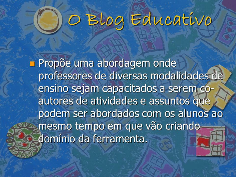 O Blog Educativo