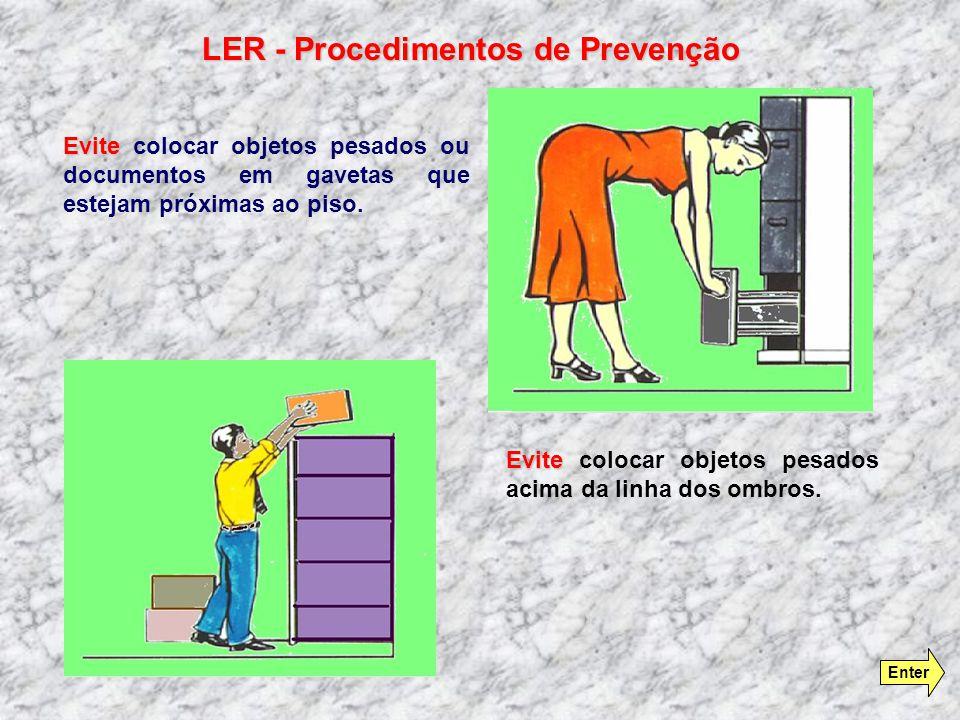 LER - Procedimentos de Prevenção