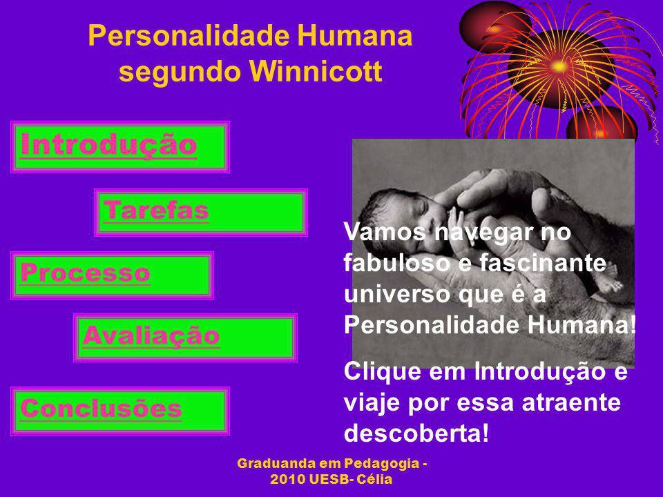 Personalidade Humana segundo Winnicott