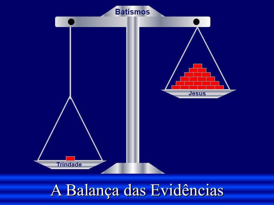 A Balança das Evidências