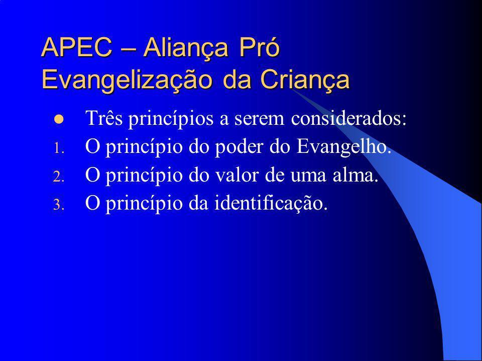 APEC – Aliança Pró Evangelização da Criança