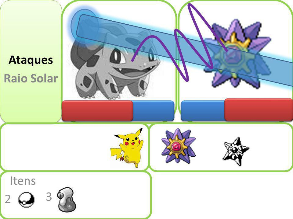 Ataques Raio Solar Itens 3 2