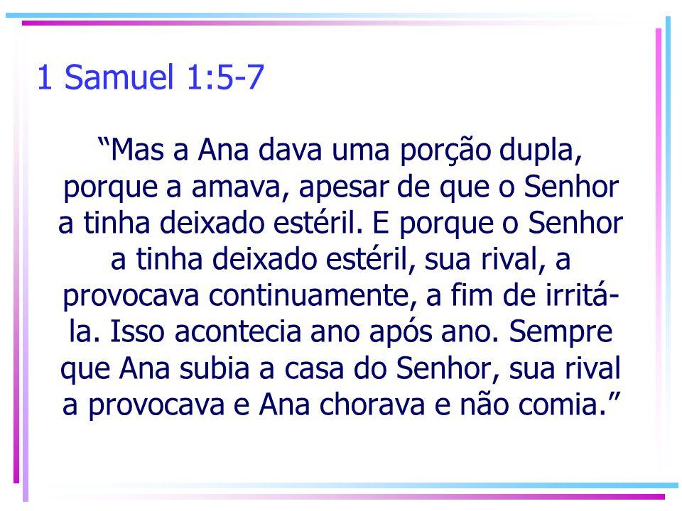 1 Samuel 1:5-7