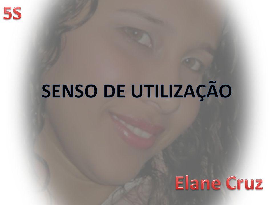 SENSO DE UTILIZAÇÃO Elane Cruz