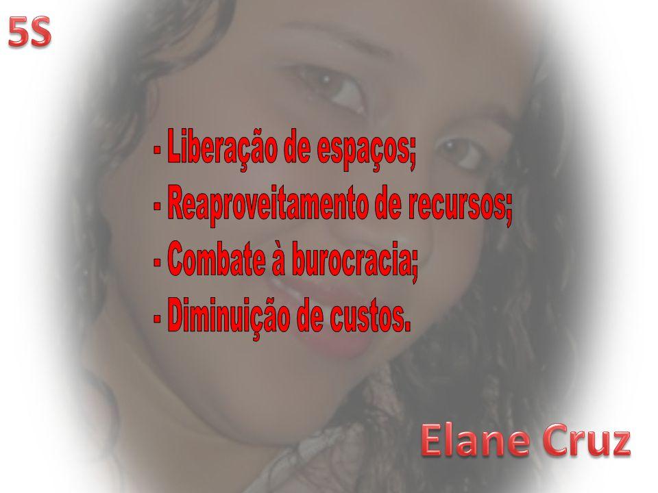 Elane Cruz 5S - Liberação de espaços; - Reaproveitamento de recursos;