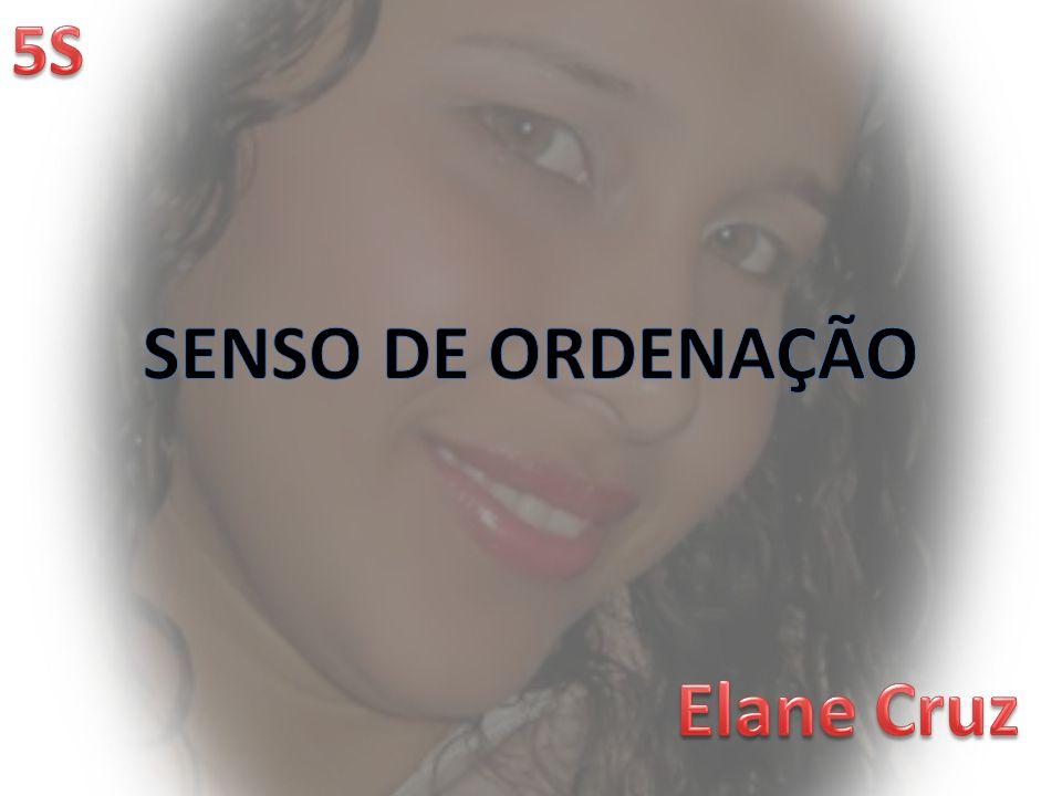 SENSO DE ORDENAÇÃO Elane Cruz