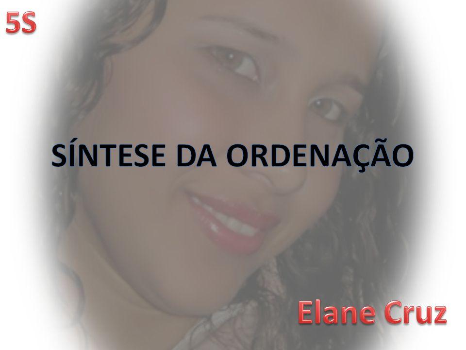 SÍNTESE DA ORDENAÇÃO Elane Cruz