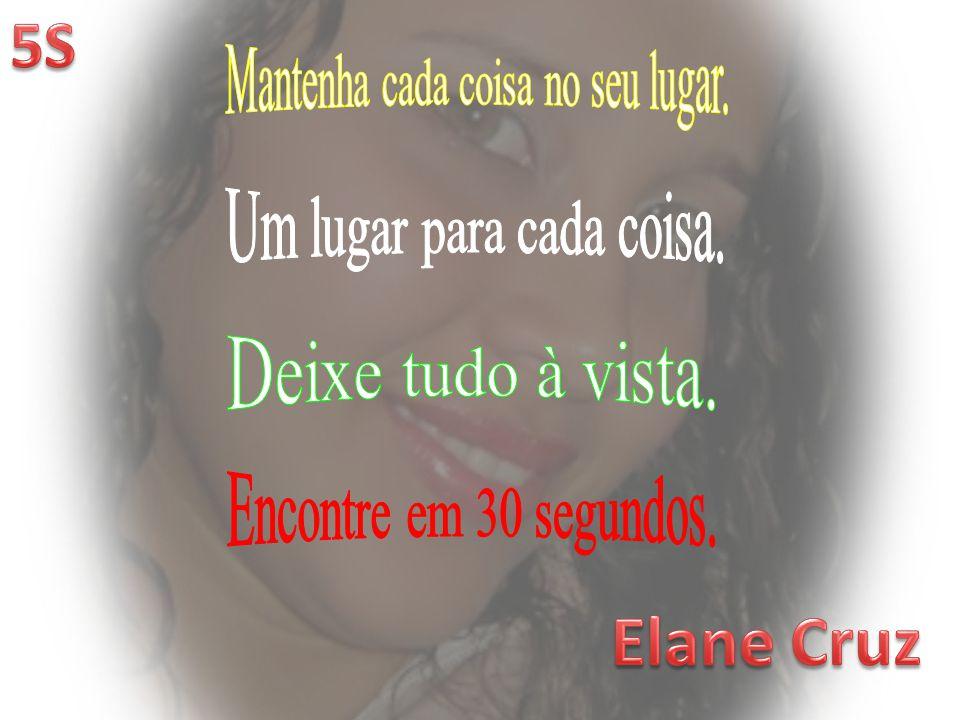 Elane Cruz 5S Mantenha cada coisa no seu lugar.