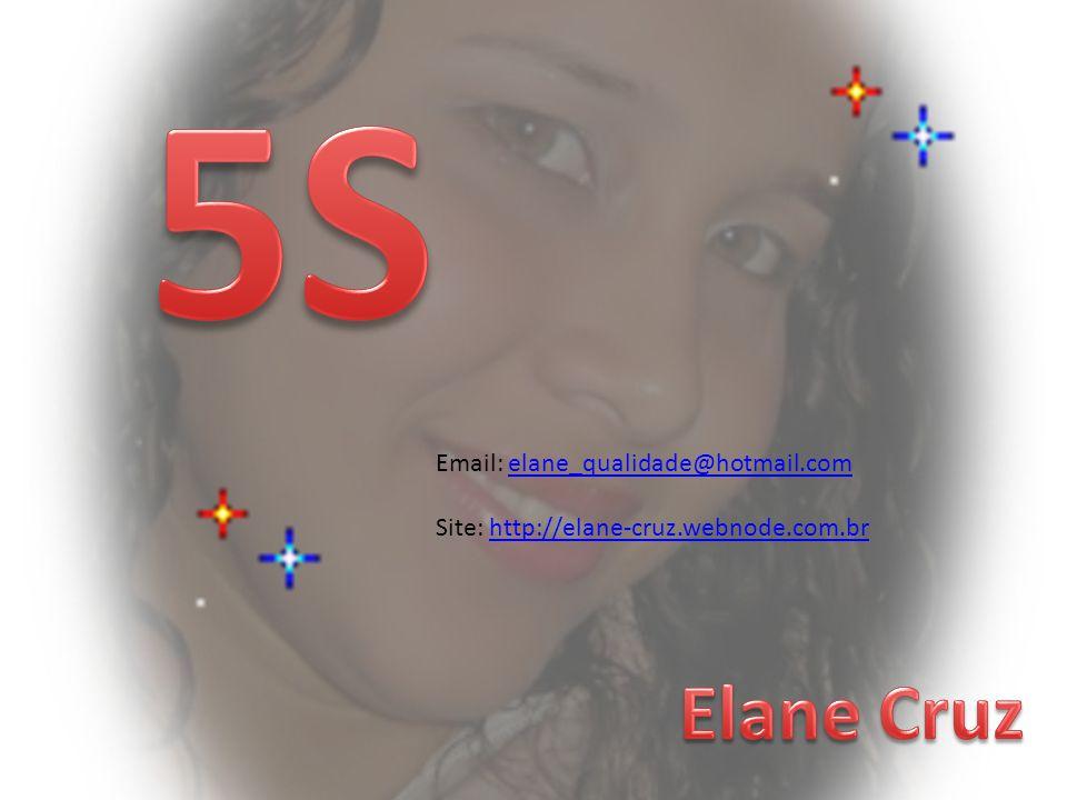 5S Email: elane_qualidade@hotmail.com Site: http://elane-cruz.webnode.com.br Elane Cruz