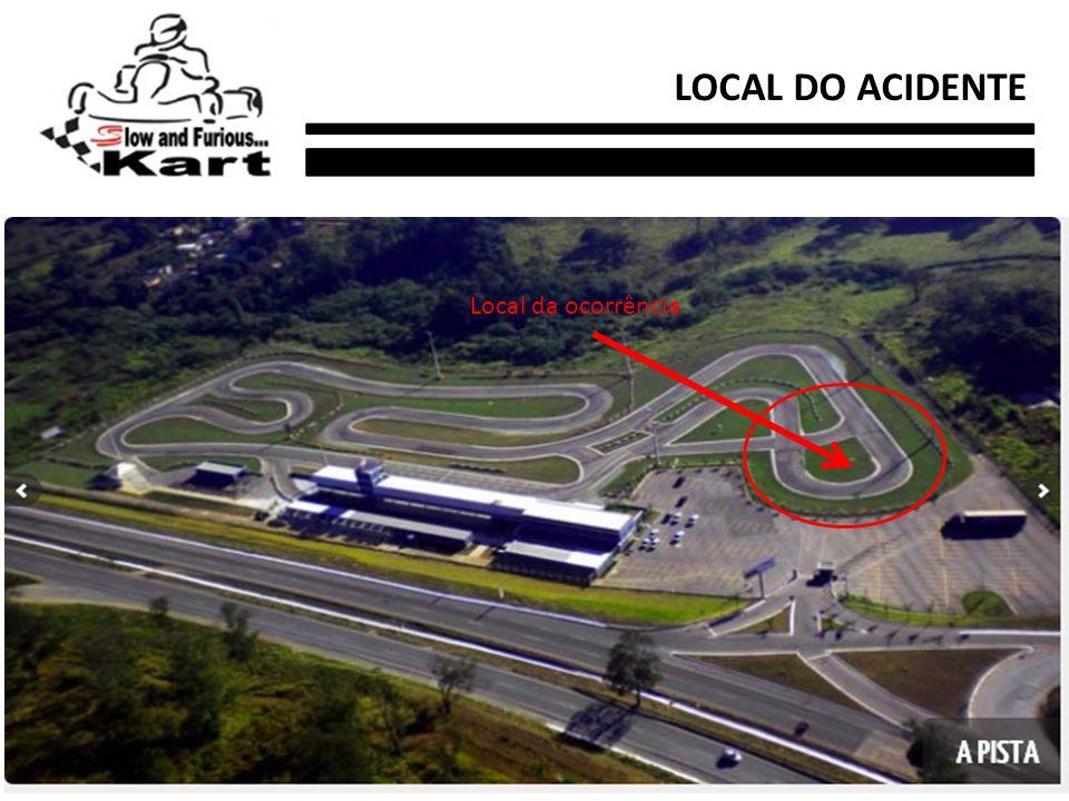 LOCAL DO ACIDENTE Local da ocorrência
