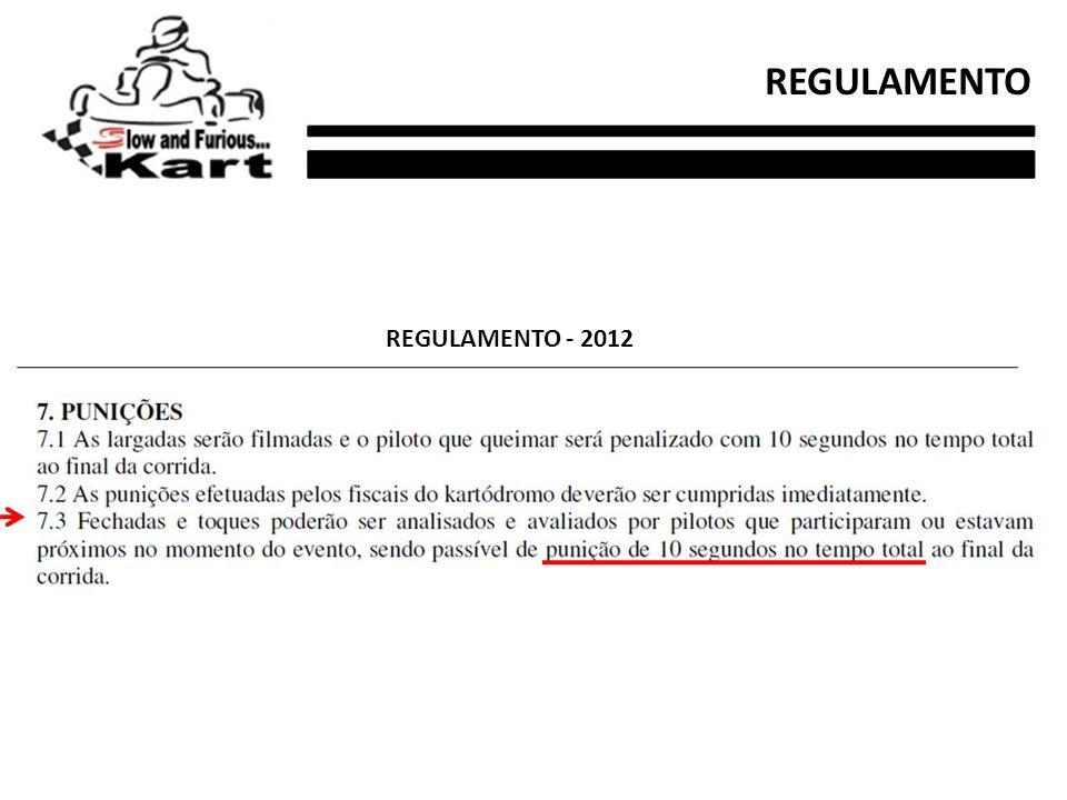 REGULAMENTO REGULAMENTO - 2012