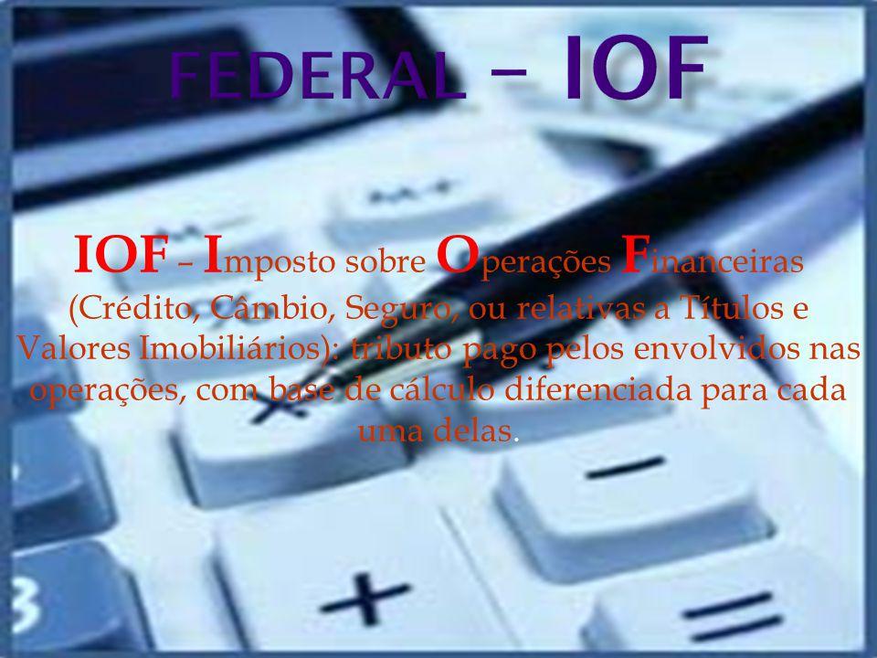 FEDERAL – IOF