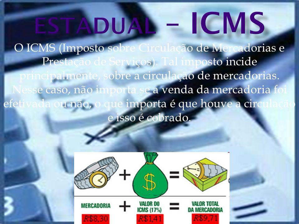 ESTADUAL – ICMS
