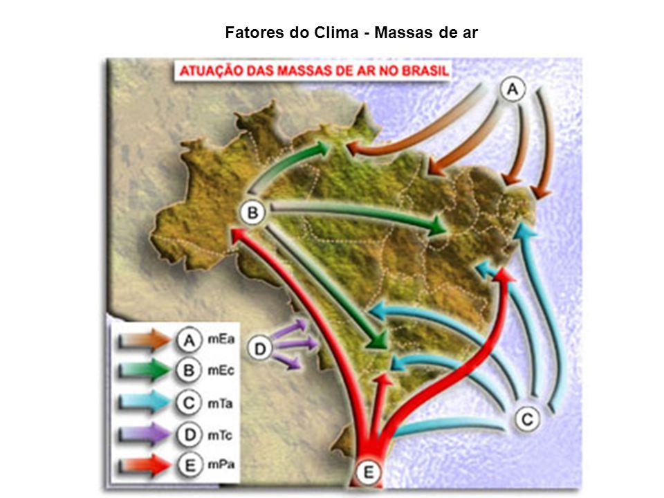 Fatores do Clima - Massas de ar