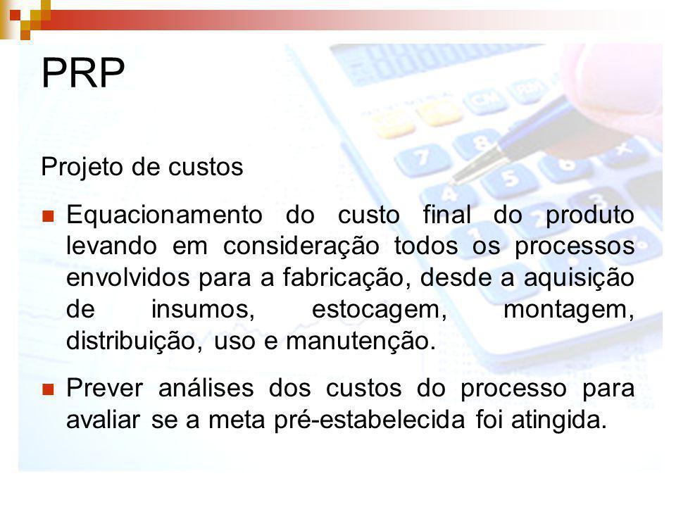 PRP Projeto de custos.
