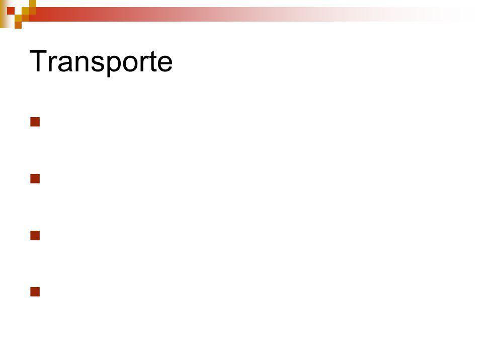 Transporte Parte que integra clientes e fornecedores a empresa