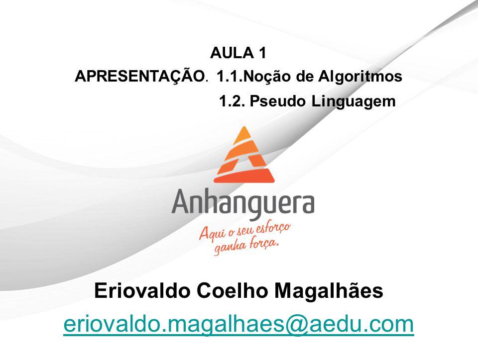 Eriovaldo Coelho Magalhães