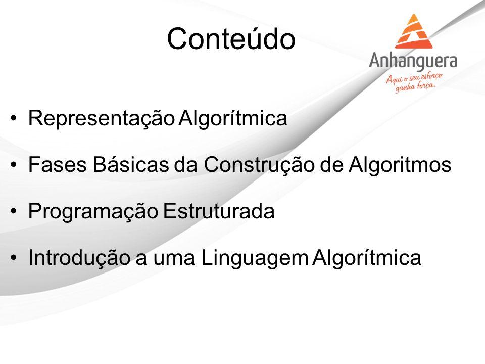 Conteúdo Representação Algorítmica