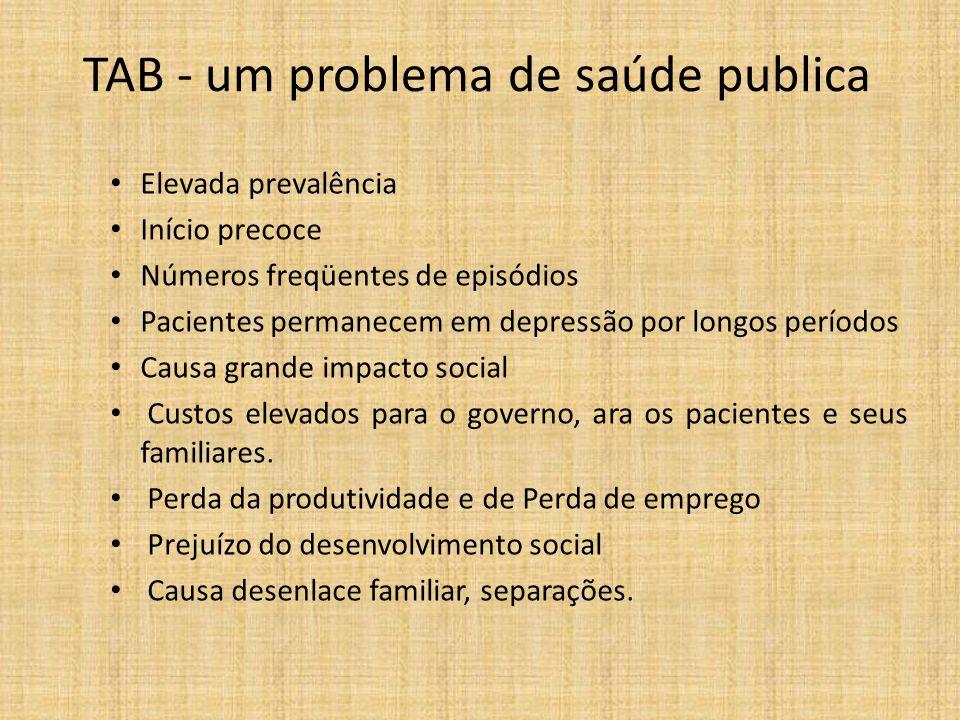 TAB - um problema de saúde publica